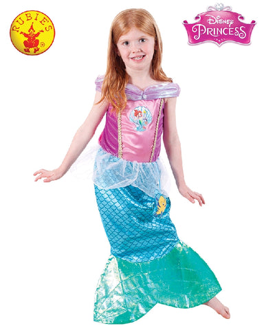 Disney Ariel Playtime Classic Girls Costume - Sizes S, M - Salsa and Gigi