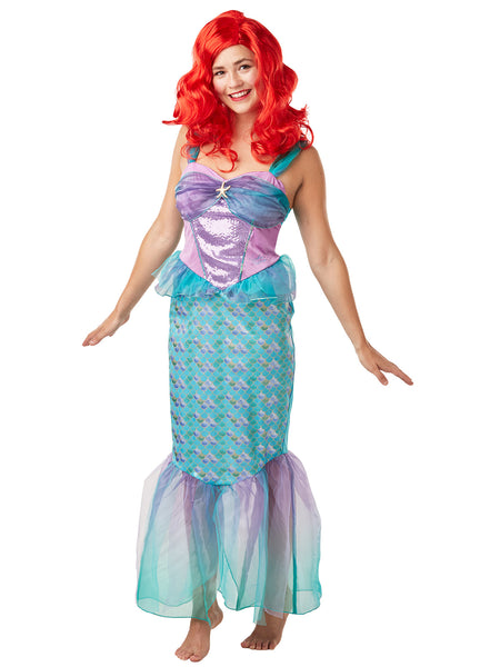 Disney Ariel The Little Mermaid Ladies Costume - Salsa and Gigi Australia 820518 01