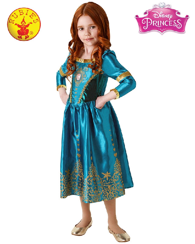 Disney Brave Merida Girls Costume - Sizes S, M, L - Salsa and Gigi