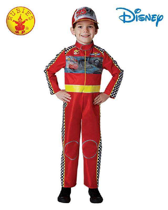 Disney Cars Lightning McQueen Deluxe Boys Costume - Size 4-6 years - Salsa and Gigi