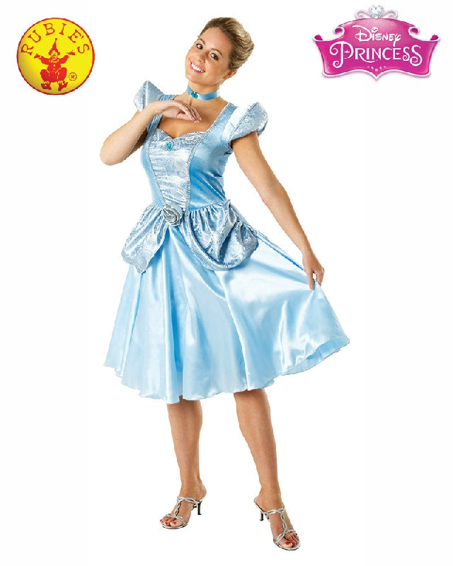 Disney Cinderella Ladies Costume - Adult Sizes S, M, L - Salsa and Gigi