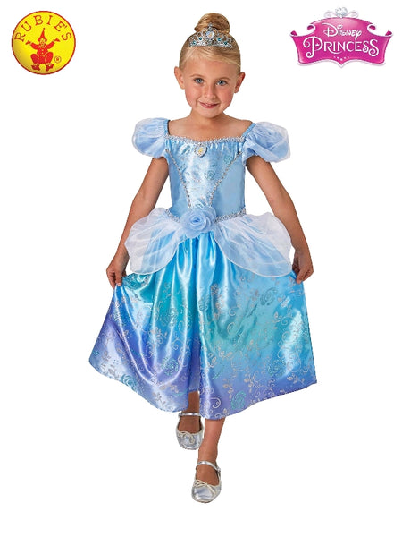 Disney Cinderella Rainbow Deluxe Girls Costume - Salsa and Gigi Australia 1885 01