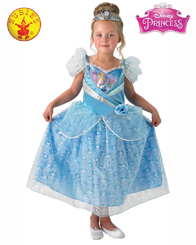 Disney Cinderella Shimmer Classic Girls Costume - Salsa and Gigi Australia 9023 01