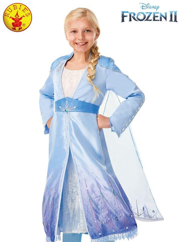 Disney Frozen 2 Elsa Limited Edition Travel Dress Girls Costume - Salsa and Gigi Australia 300462 01