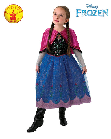 Disney Frozen Anna Musical Light Up Girls Costume - Size 4-6 years - Salsa and Gigi