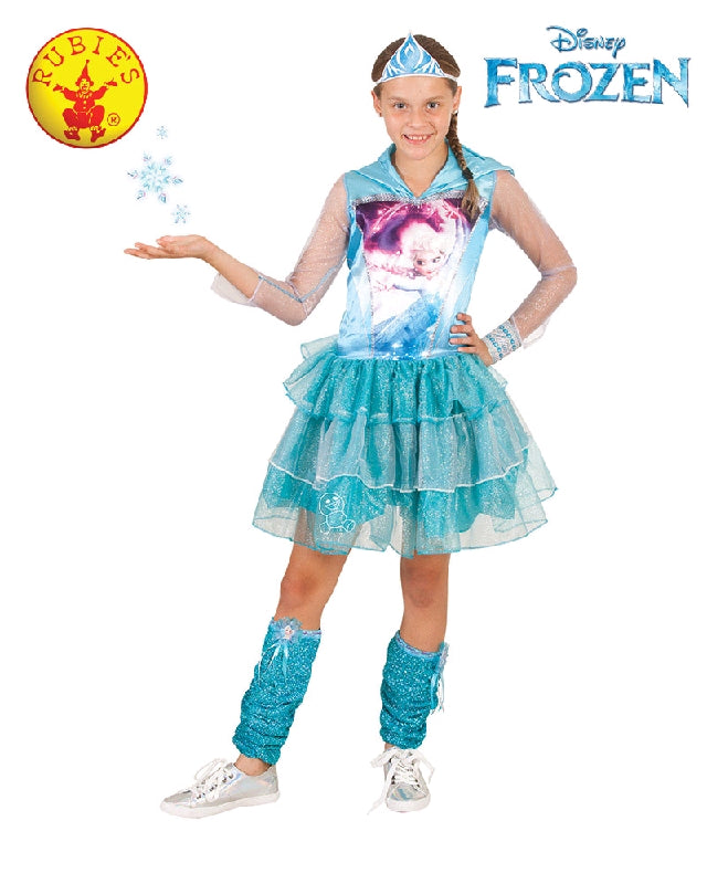 Disney Frozen Elsa Hooded Girls Costume - Salsa and Gigi