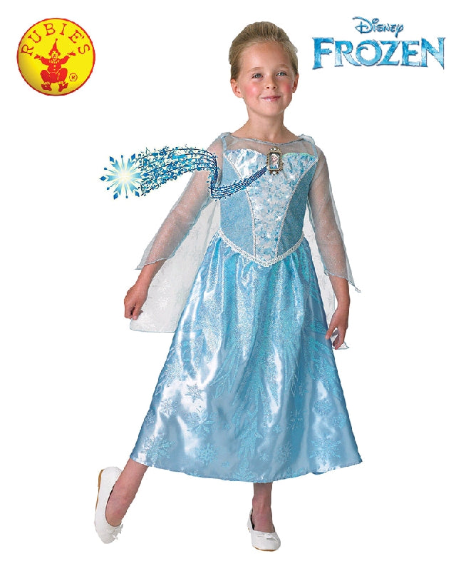 Disney Frozen Elsa Musical Light Up Girls Costume - Size 4-6 years - Salsa and Gigi