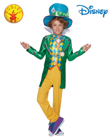 Disney Mad Hatter Deluxe Teen Boys Costume - Size 9-10 years - Salsa and Gigi