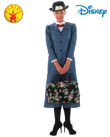Disney Mary Poppins Ladies Deluxe Costume - Adult Sizes S, M, L - Salsa and Gigi