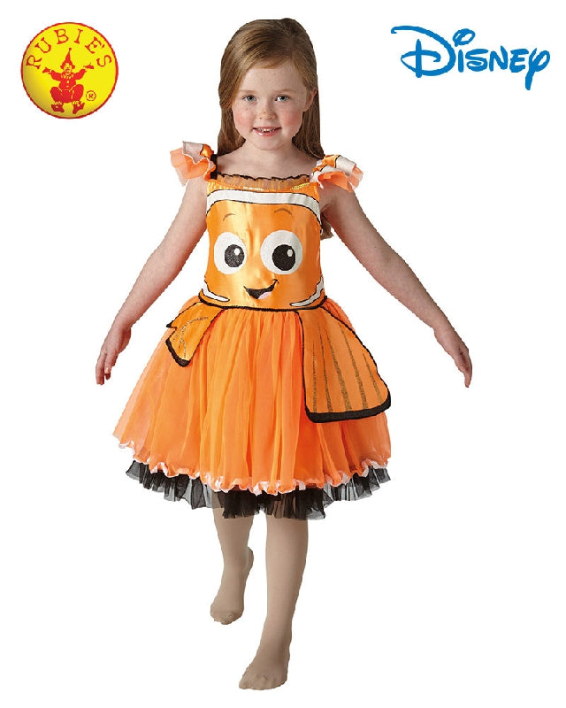 Disney Nemo Deluxe Girls Tutu Costume - Sizes T, S, M - Salsa and Gigi
