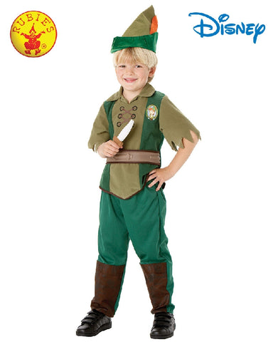 Disney Peter Pan Deluxe Boys Costume - Sizes S, M, L - Salsa and Gigi
