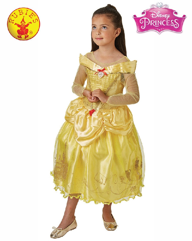 Disney Princess Belle Beauty and the Beast Ballgown Costume - Size S, M - Salsa and Gigi