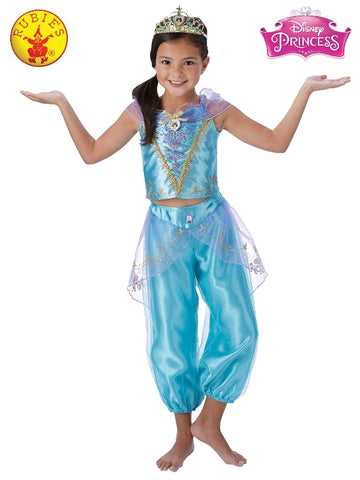 Disney Princess Jasmine Storyteller Girls Costume - Salsa and Gigi Australia