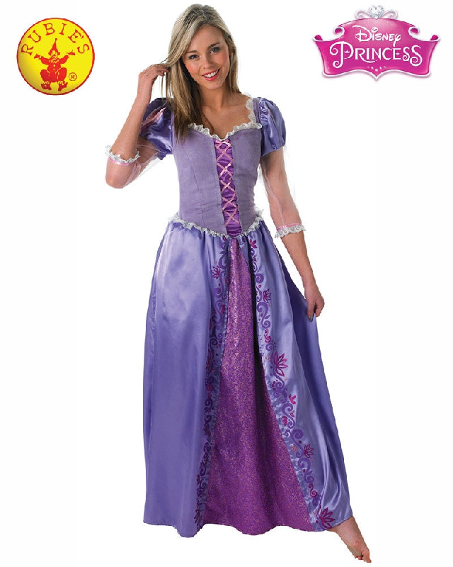 Disney Rapunzel Ladies Costume - Adult Sizes S, M, L - Salsa and Gigi