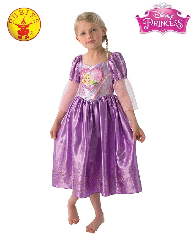 Disney Rapunzel Loveheart Girls Costume - Sizes S, M - Salsa and Gigi