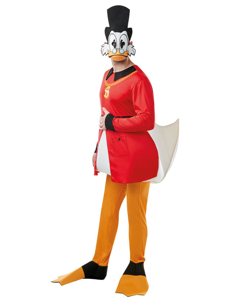 Disney Scrooge McDuck Christmas Adult Costume - Salsa and Gigi Australia 300360 01