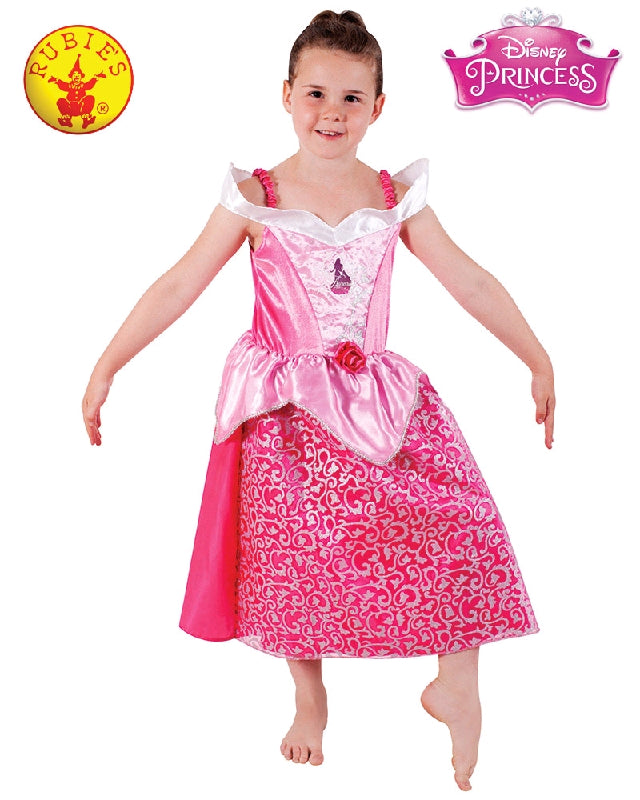 Disney Sleeping Beauty Sparkle Deluxe Girls Costume - Size S, M - Salsa and Gigi