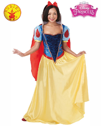 Disney Snow White Ladies Costume - Adult Size S, M, L - Salsa and Gigi