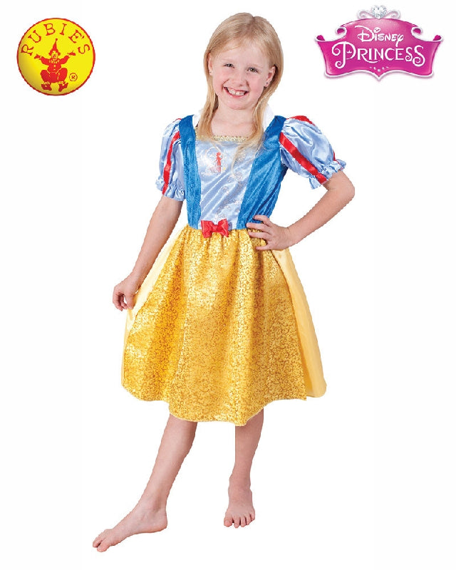 Disney Snow White Sparkle Deluxe Girls Costume - Size S, M - Salsa and Gigi