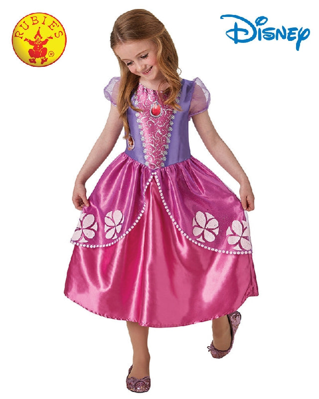 Disney Sofia the First Classic Girls Costume - Size S - Salsa and Gigi