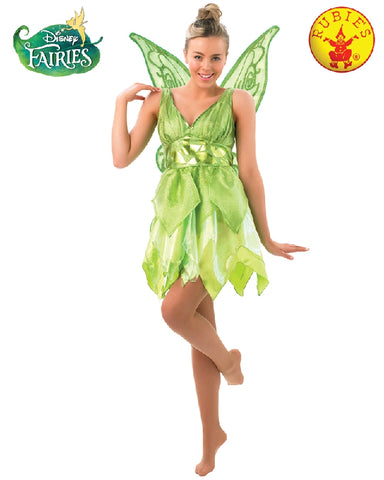 Disney Tinker Bell Fairy Deluxe Ladies Costume - Size S, M, L - Salsa and Gigi