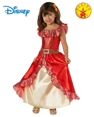 Disney Elena of Avalor Deluxe Girls Costume - Salsa and Gigi Australia 630039