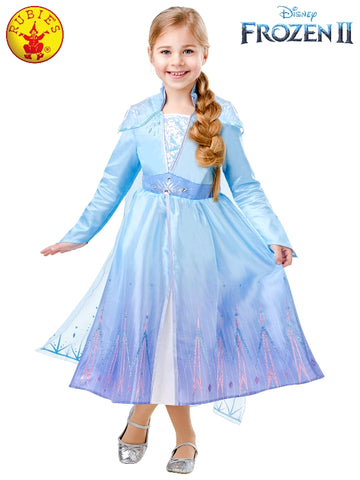 Elsa Disney Frozen 2 Deluxe Girls Costume - Salsa and Gigi Australia 9141 01