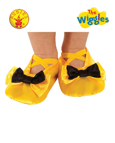 EMMA WIGGLE Yellow Slippers - Salsa and Gigi