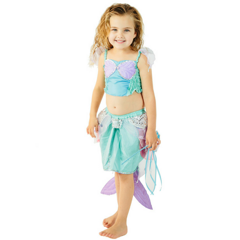 fairy girls pearl mermaid costume set cara jane