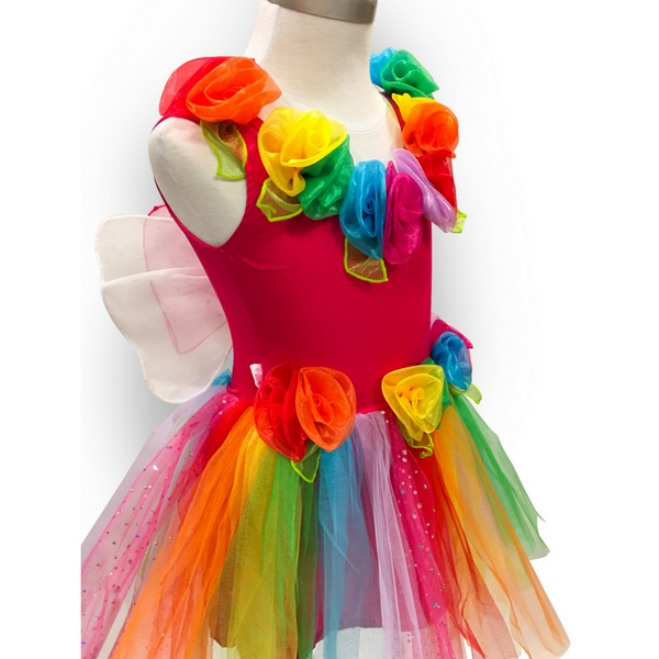 Rainbow Fairy Princess Ballerina Costume