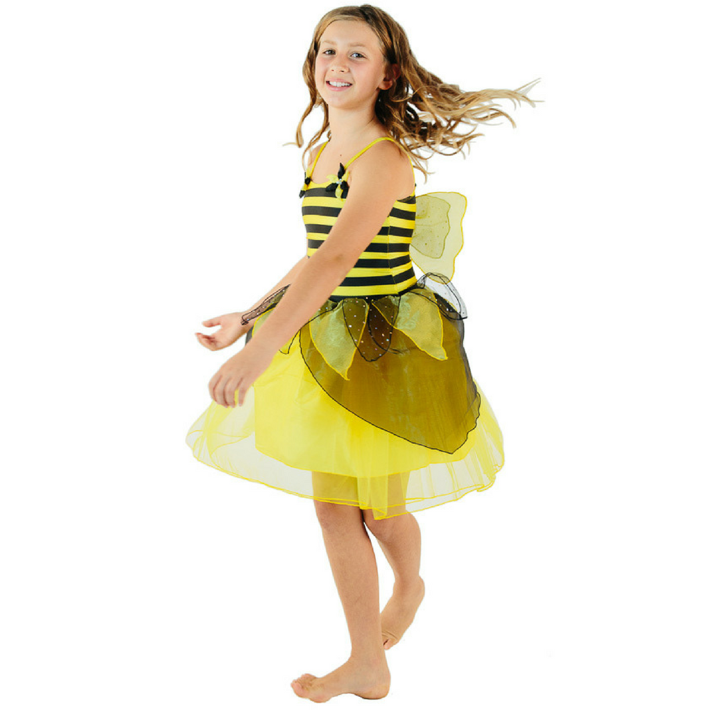 Bumble Bee Fairy Costume for Girls and Toddlers - Salsa and Gigi