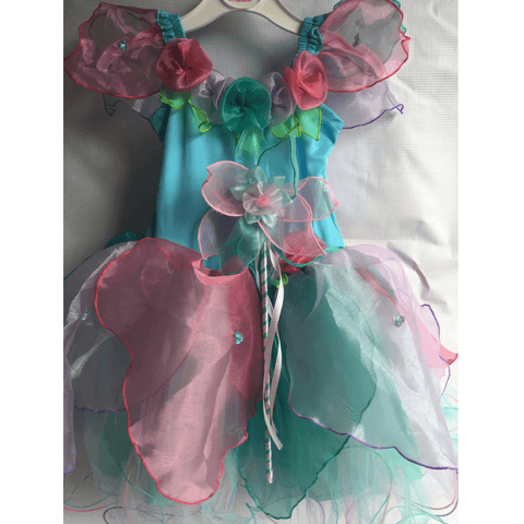 Fairy Girls - Wish Fairy Costume and matching Wand - Salsa and Gigi Australia