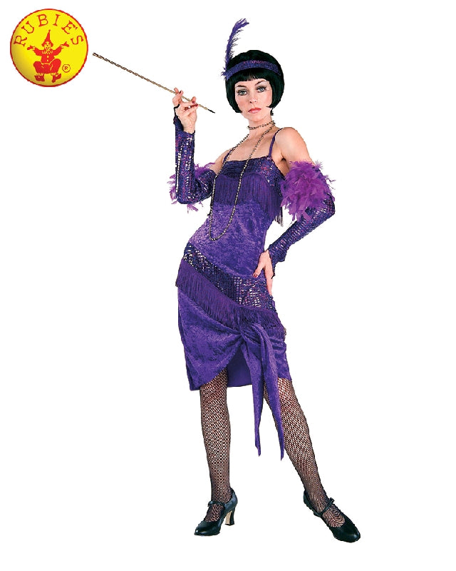 Fabulous Flapper 1920's Ladies Costume - Adult Standard Size - Salsa and Gigi