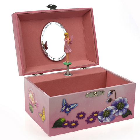 Fairy Keepsake Music Box - Salsa and Gigi