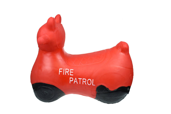 Bouncy Ride On Inflatable Toy - Red Fire Patrol - Salsa and Gigi