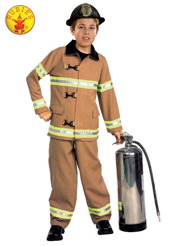 Fire Fighter Classic Child Costume - Salsa and Gigi Australia