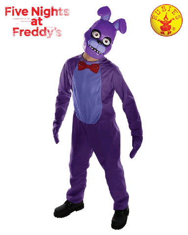 Five Nights at Freddy's Bonnie Boys Costume - Size Tween 9-10 years - Salsa and Gigi