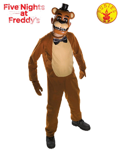 Five Nights at Freddy's Freddy Boys Costume - Size M, L, Teen - Salsa and Gigi
