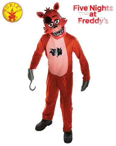 Five Nights at Freddy's Boys Foxy Costume - Size M, L, Teen - Salsa and Gigi