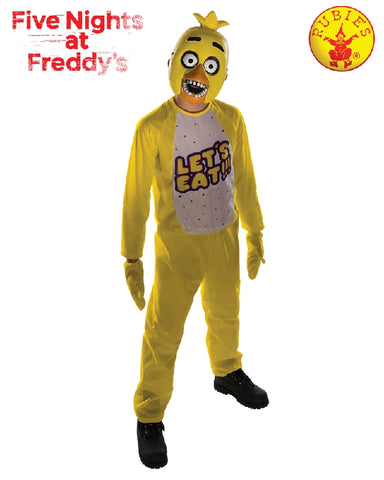 Five Nights at Freddy's Chica Boys Costume - Sizes M, L - Salsa and Gigi