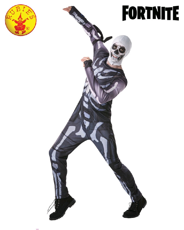 FORTNITE Skull Trooper Classic Teen Jumpsuit  - Salsa and Gigi Australia
