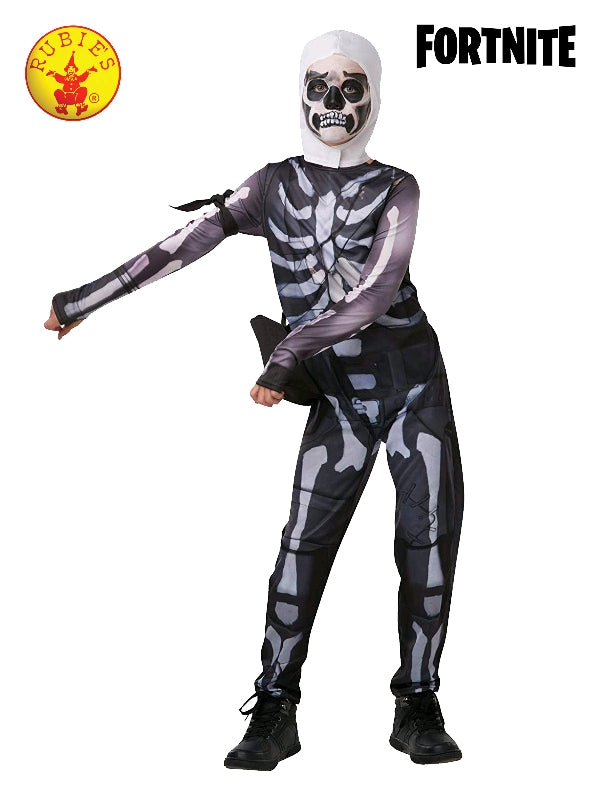 Fortnite Skull Trooper Tween Costume - Salsa and Gigi Australia 300194