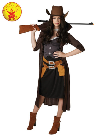 Gunslinger Western Ladies Costume - Salsa and Gigi Australi 820484 01