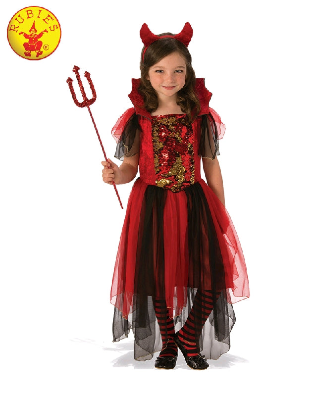 COMING SOON... Colour Magic Devil Girls Costume - Sizes S, M, L - Salsa and Gigi