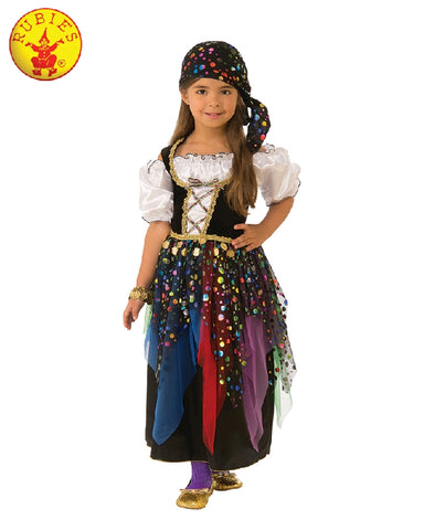 COMING SOON... Gypsy Girl Child Costume - Sizes M, L - Salsa and Gigi