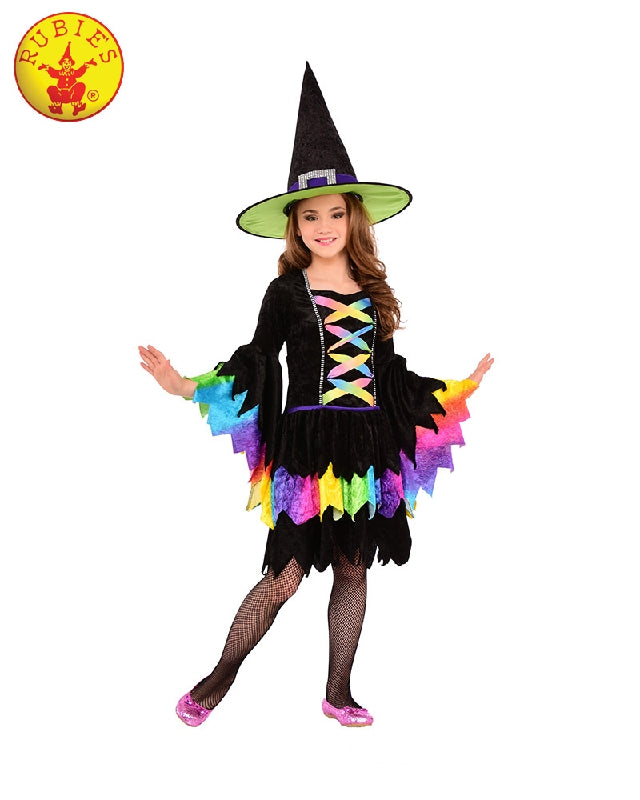 Halloween Rainbow Witch Girls Costume - Salsa and Gigi Australia 630932