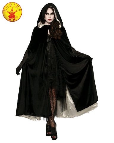 Halloween Reversible Black and White Ladies Cape - Salsa and Gigi Australia 34288