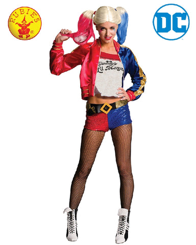 Harley Quinn Suicide Squad DC Superhero Costume - Adult Size S, M, L - Salsa and Gigi