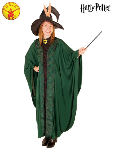 Harry Potter Professor McGonagall Ladies Robe and Hat - Salsa and Gigi Australia 01