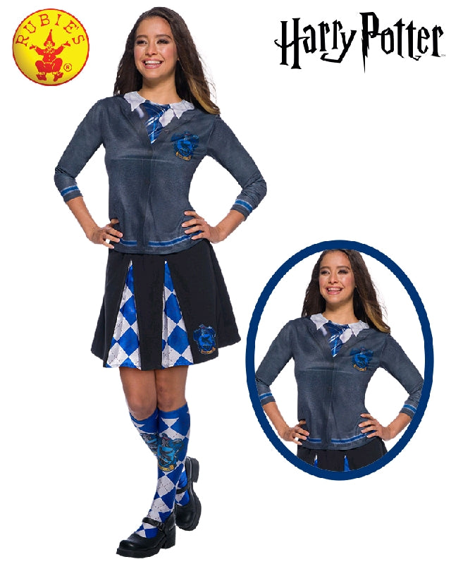 Harry Potter Ravenclaw Ladies Costume Top - Salsa and Gigi Australia 821147